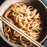 Instant Pot Sticky Rice Noodles