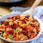 Instant Pot Spanish Rice With Chorizo