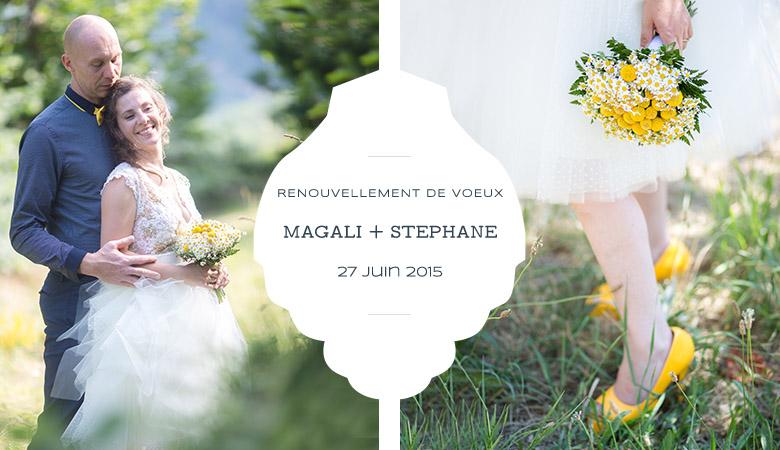 Renouvellement De Voeux Nice Magali Et Stephane