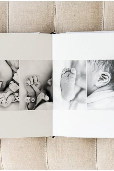 Livre Album Studio – Collection textile avec boîte assortie