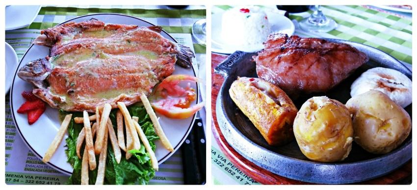 Fotos de los platos que pedimos