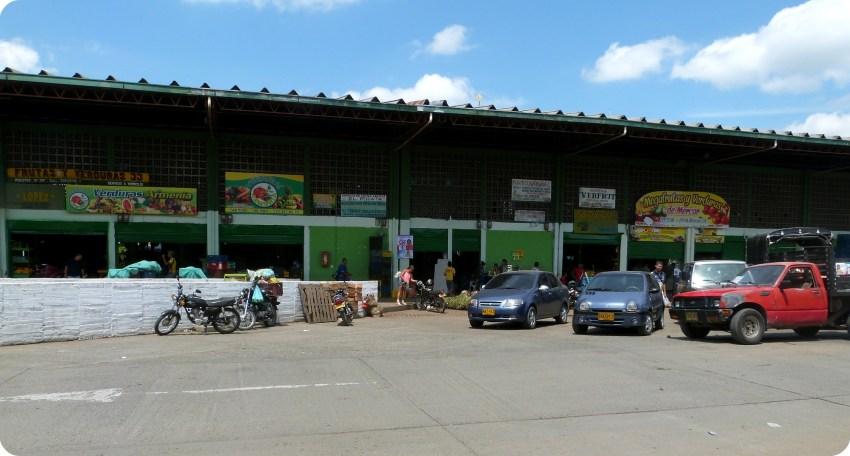 hangars du marché d'Armenia