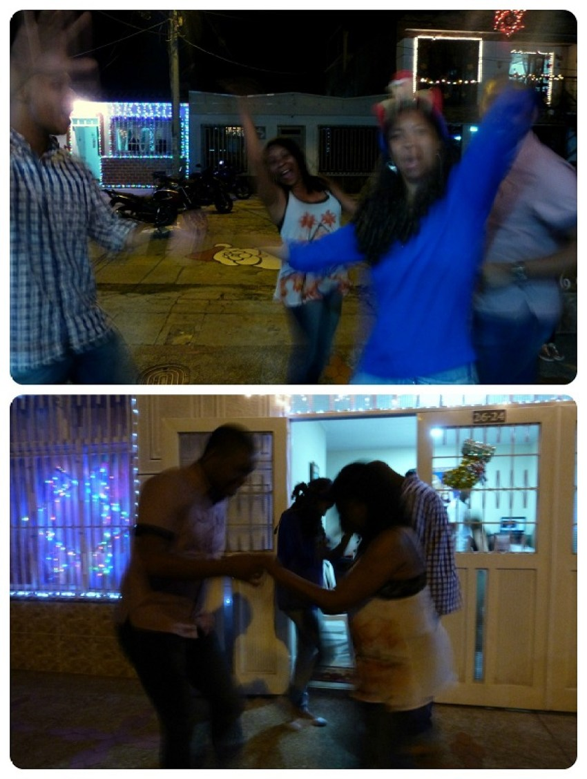 Baile en la calle