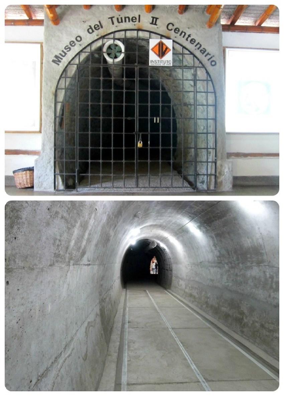 Tunnel du musée au jardin botanique du Quindío à Calarcá