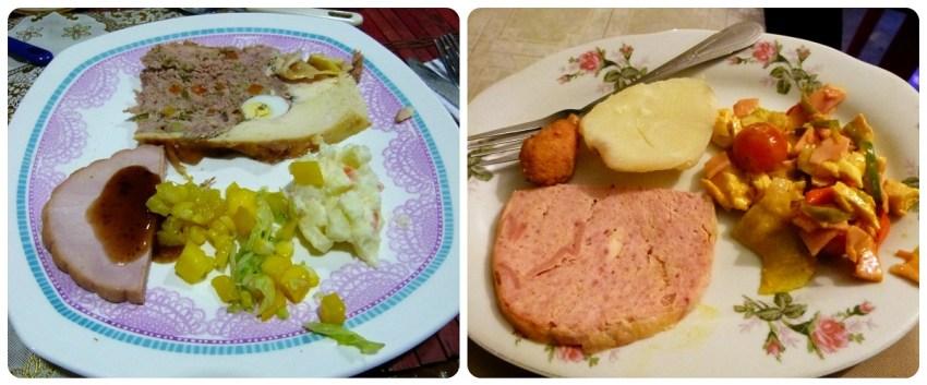 Platos que comimos en navidad y en Año nuevo