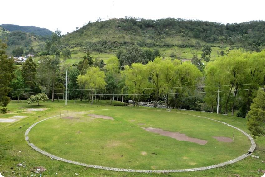terreno círculo y paisaje en silvia