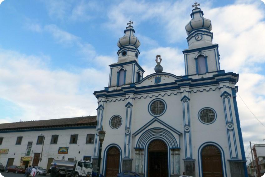 Façade de l'église San Felipe Neri de Ipiales