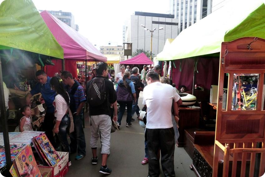 Mercado de Pulgas de San Alejo en Bogotá