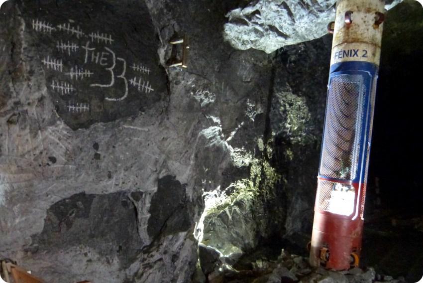 """capsule Fenix 2 qui a été utilisée dans le film """"The 33"""" à la mina de sal de Nemocón"""