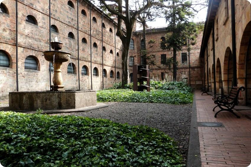 Patio del Museo Nacional de Colombia de Bogotá