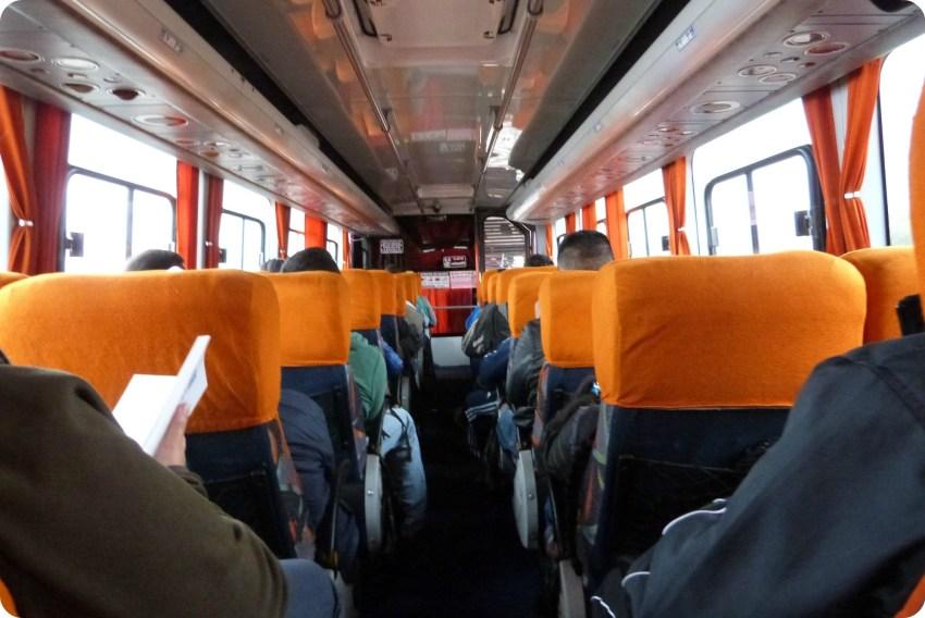 regreso en bus desde Ecuador hasta Colombia
