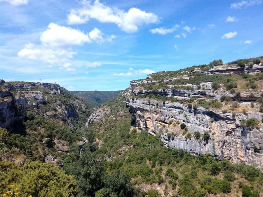 minerve paysages hérault voyage vélo