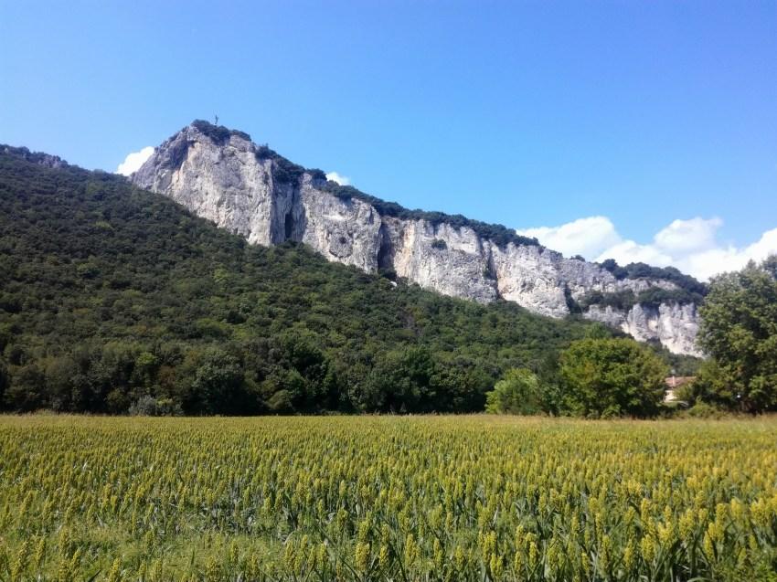 paysage viviers ardèche voyage vélo