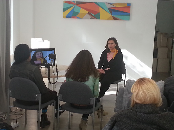Film acting workshop with Aleta Chappelle