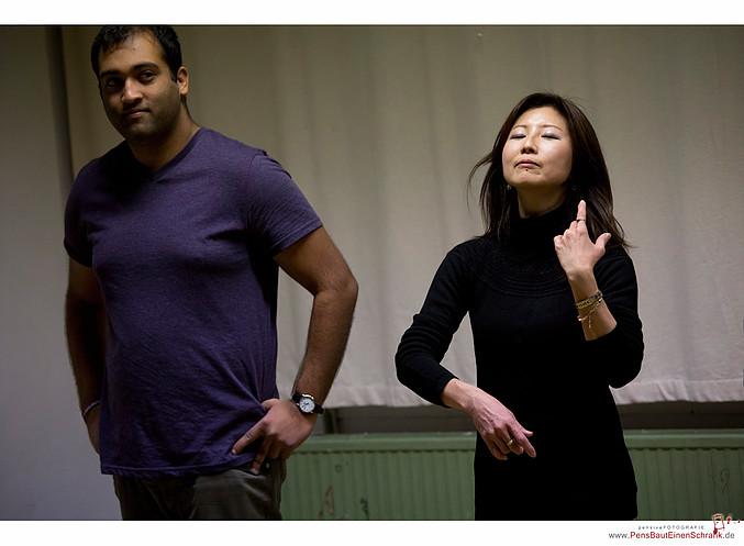 Instant Theatre Berlin - rehearsals