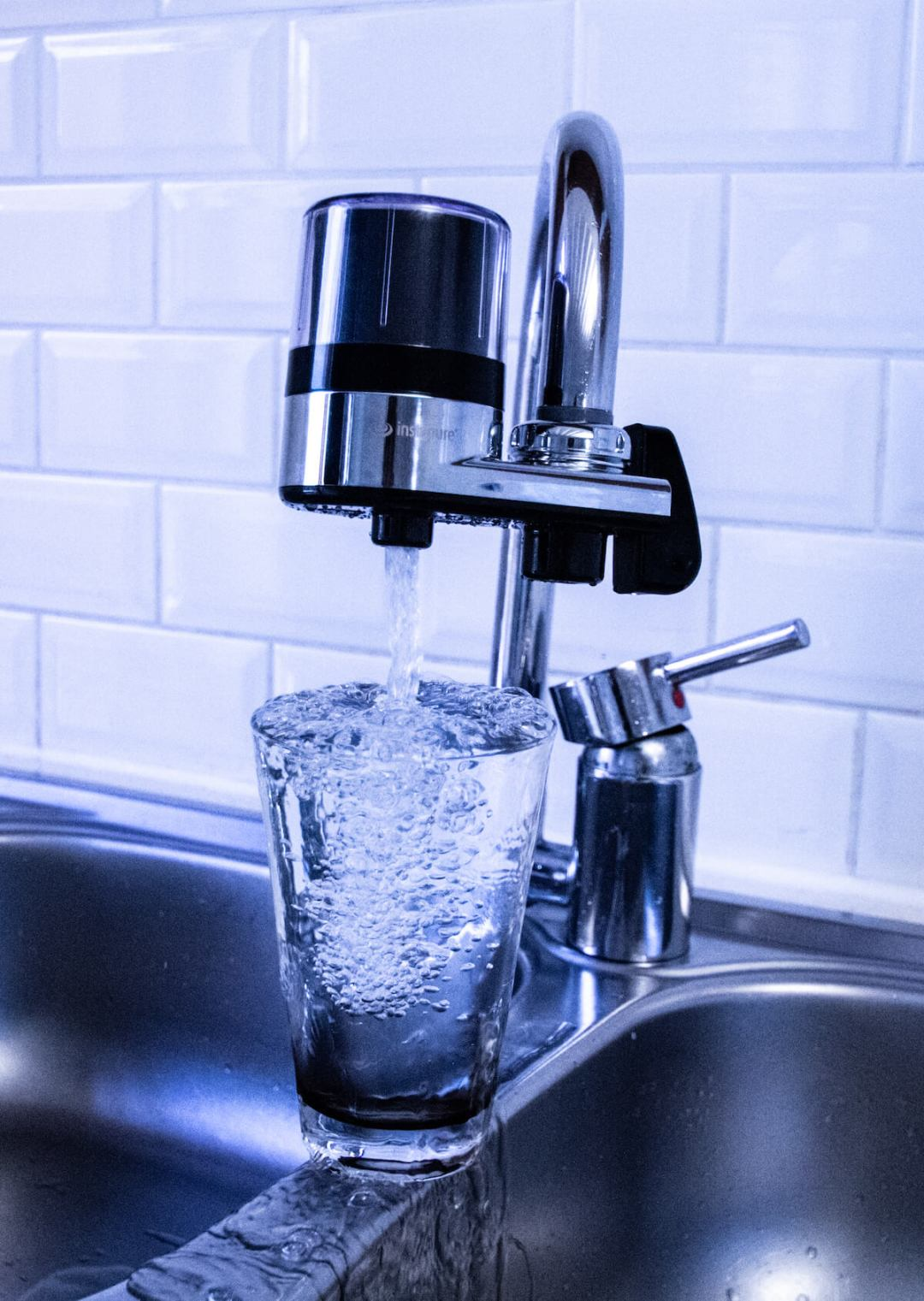 Instapure tap water filter. Household and kitchen water filter. Formerly Waterpik tap filter