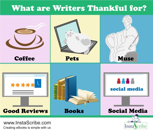 What are Writers Thankful for?