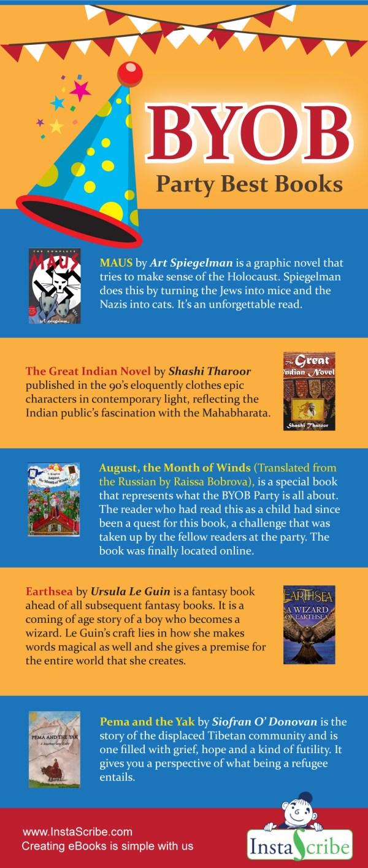 BYOB Party Best Books