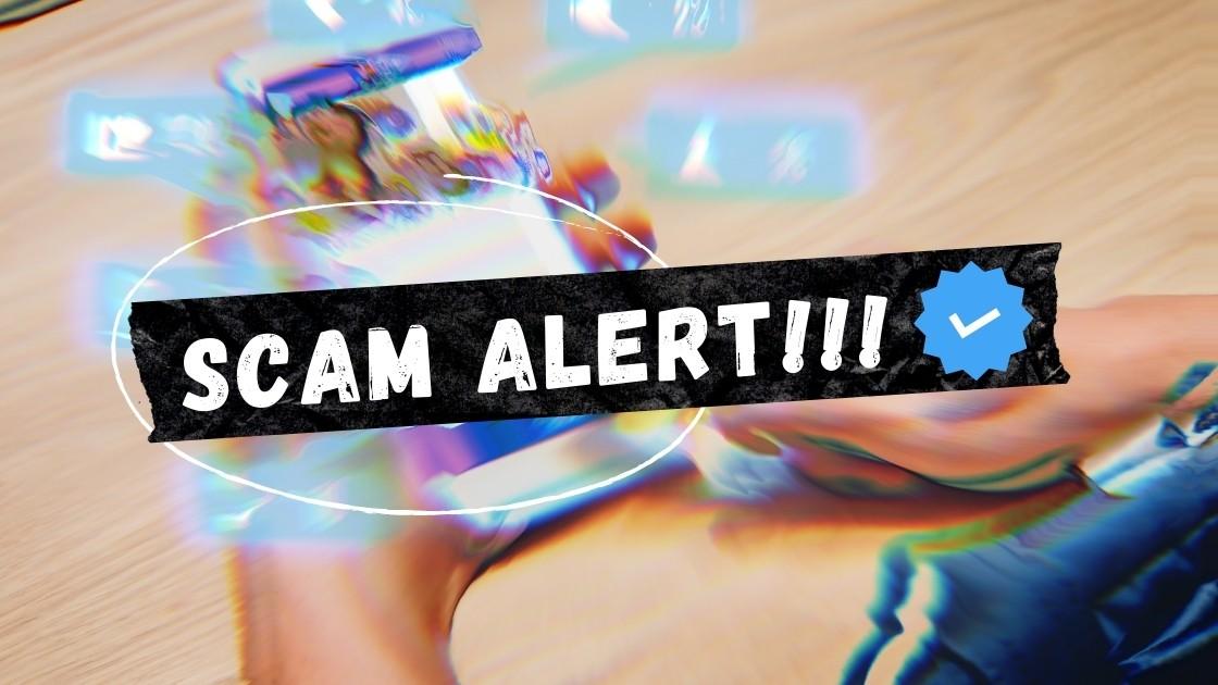scam alert instagram verification