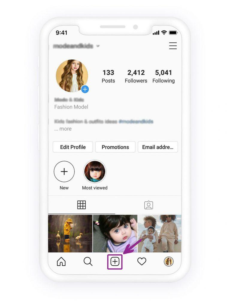 Comment taguer quelqu'un sur Instagram 1