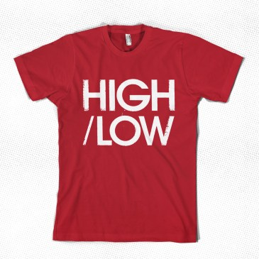 HIGH/LOW T-shirt