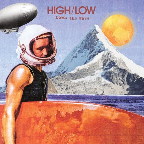 HIGH/LOW - Down the Wave (Front Cover)