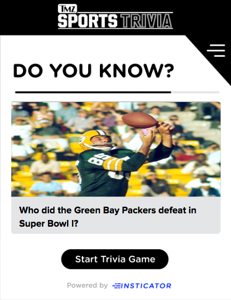 Super Bowl Trivia Blog Image by Kiersten