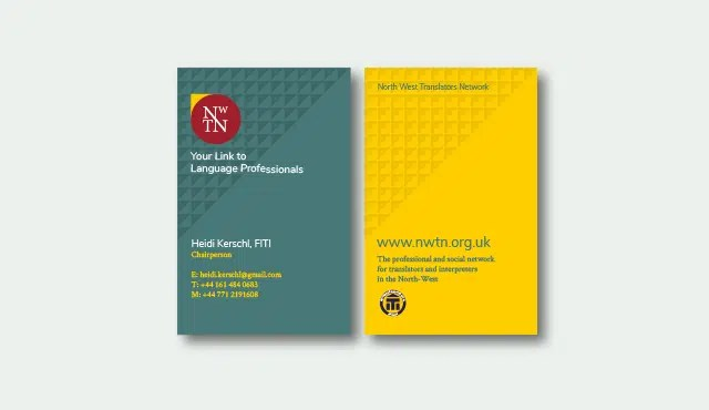 nwtn membership website business cards