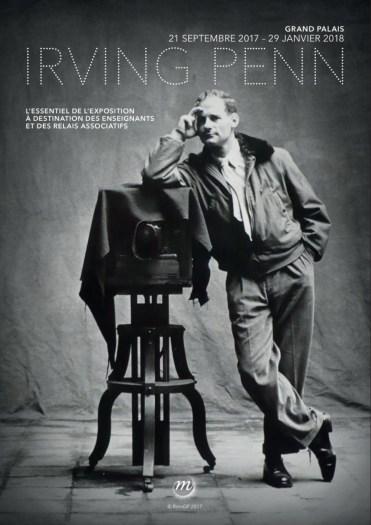 affiche exposition photo Irving Penn 2017
