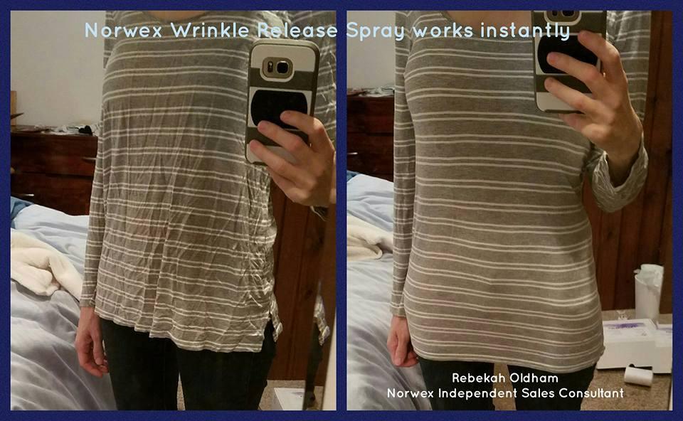 norwex wrinkle release spray