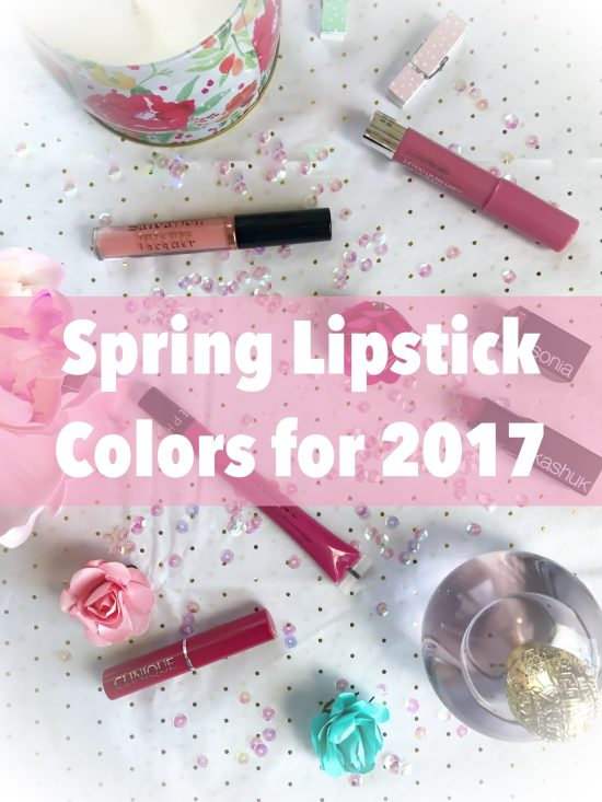 spring lipstick colors