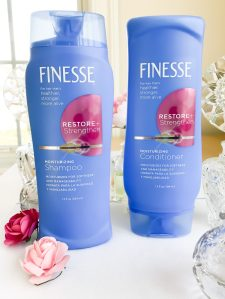 Finesse Restore + Strengthen shampoo and conditioner