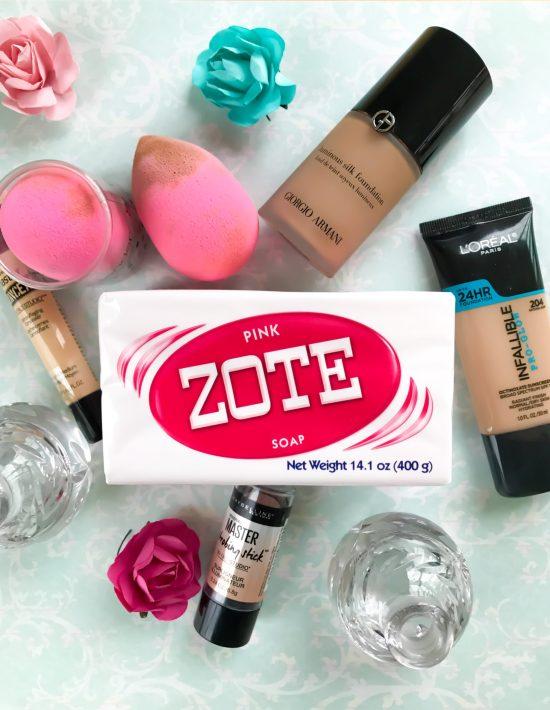 How I Clean My Beauty Blender- Zote