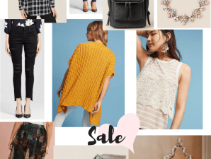 Anthropologie, Francesca's, Lucky Brand, Pottery Barn, Target, jeans, sale, denim