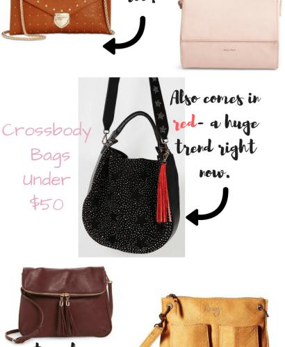 Crossbody bags under $50