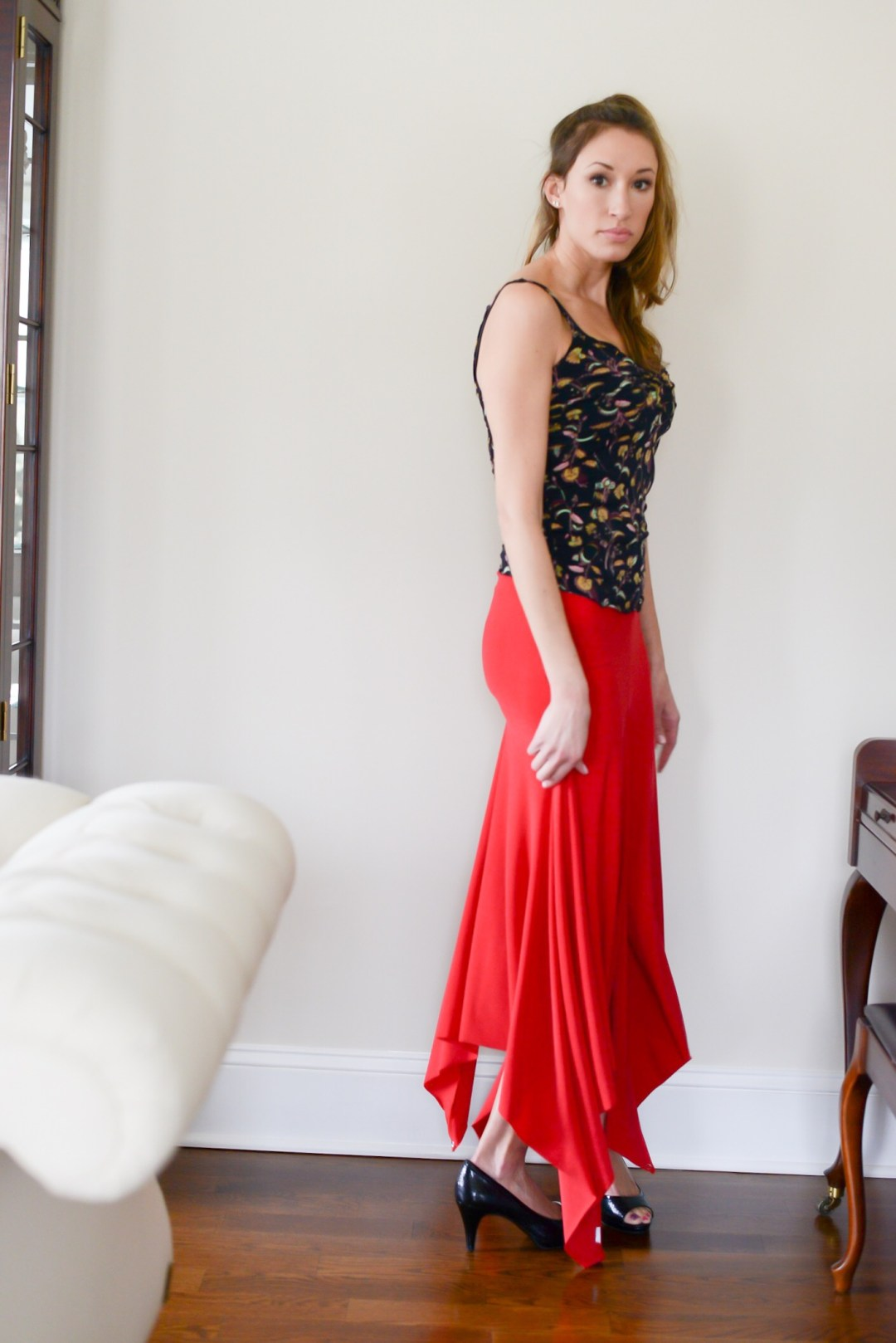 Event Wear with a Wow Factor- customizeable red dress