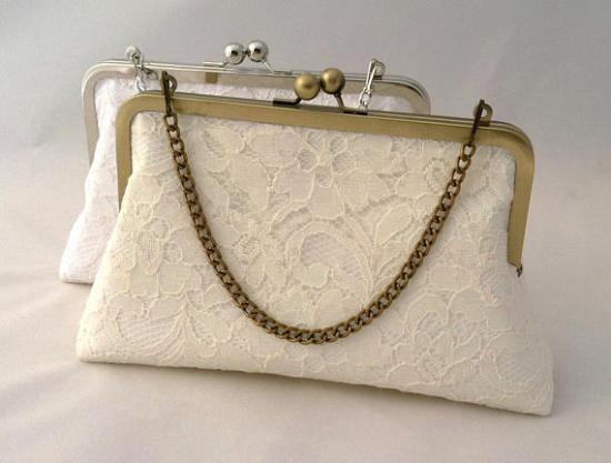 lace handbag clutch
