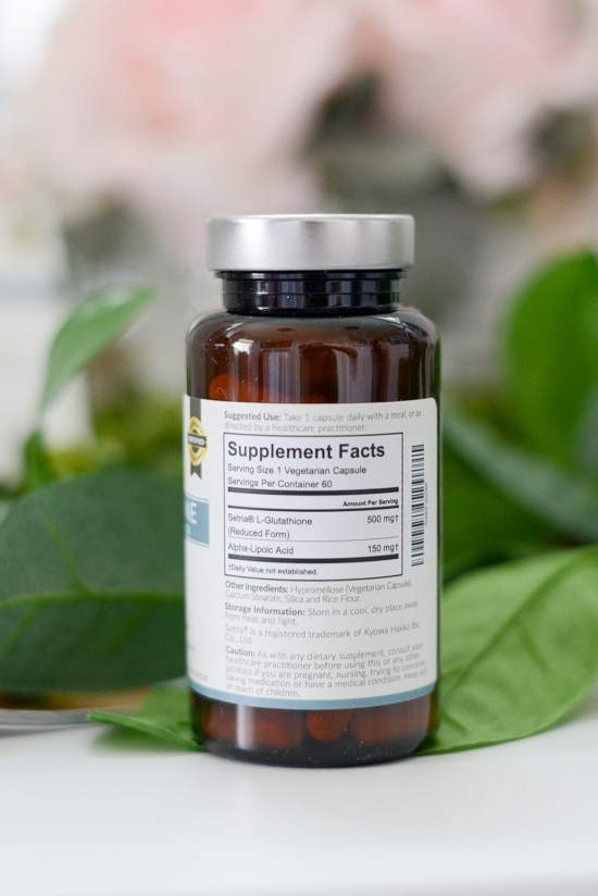 The best natural supplements for hair- setria glutathione supplement facts