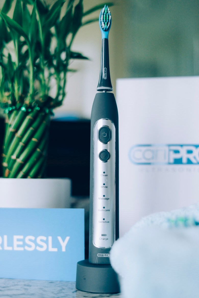 The Best Electric Toothbrush- Smile Brilliant CariPro Ultrasonic