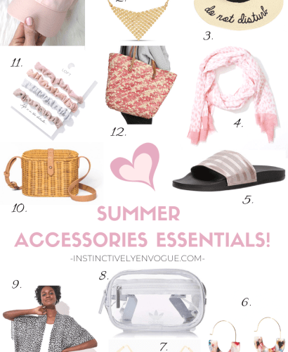 Summer Accessories Essentials!