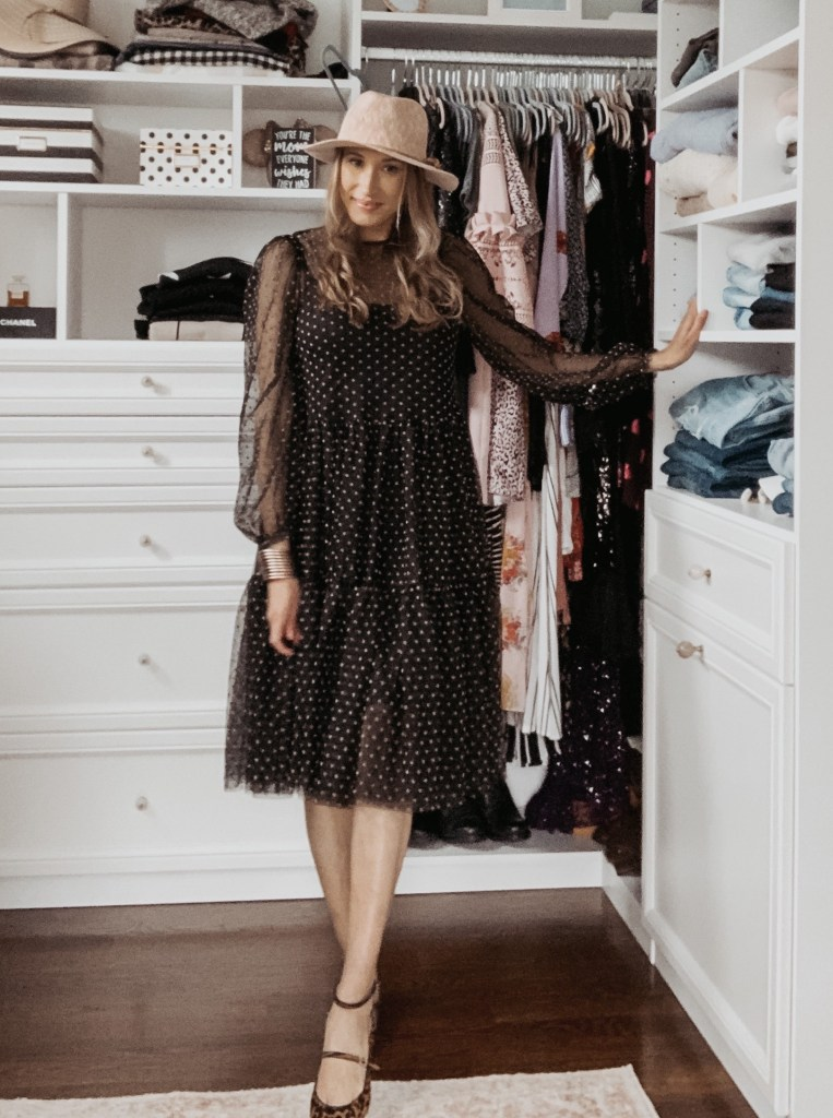 polka dot frock from H&M