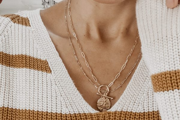 bold chain necklaces are great stocking stuffers