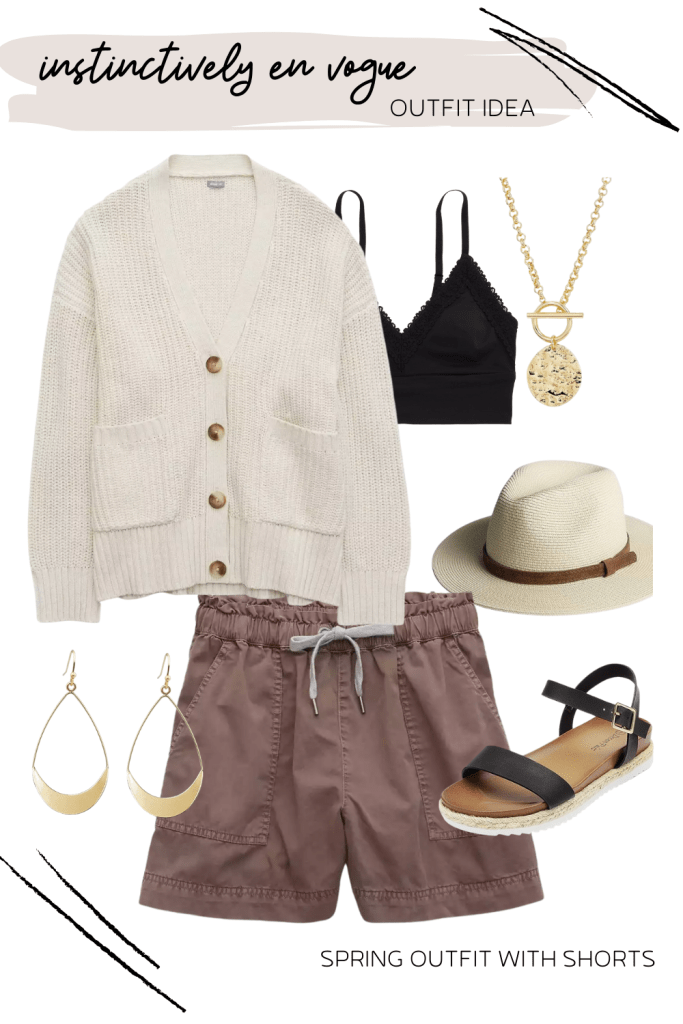 spring outfit collage