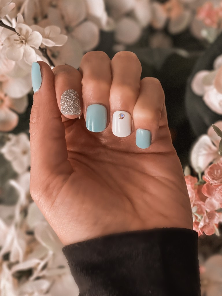 spring and summer press-on nails, easter nails