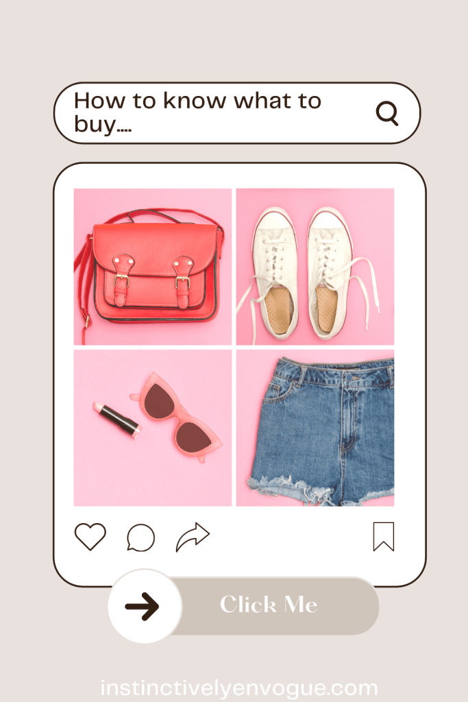 shopping tips / how to shop