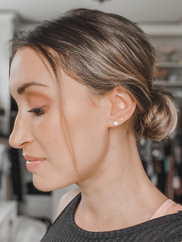 easy diy wedding guest hairstyle idea