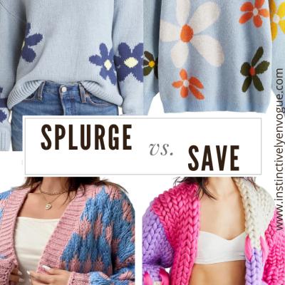 splurge vs save fall fashion 2021