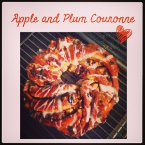 Apple and Plum Couronne