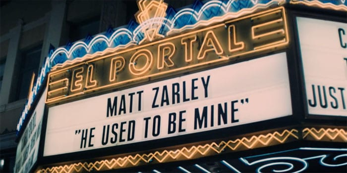 "Matt Zarley covers Sara Bareilles' ""She Used To Be Mine"""