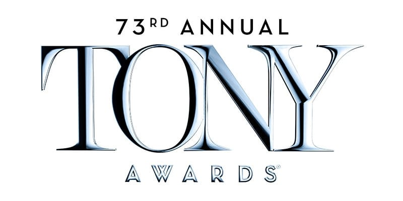 The 73rd Annual Tony Awards will be broadcast on CBS June 9